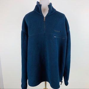Timberland Polartec Navy Pullover Fleece Jacket